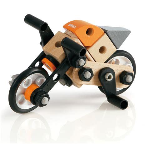 brio construction toys brio builder system motorcycle