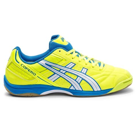 indoor sports shoes asics copero s mens indoor soccer shoes neon yellow