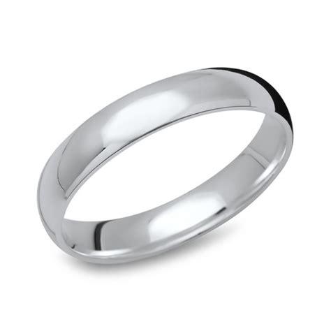 Silber Ringe by Hochglanzpolierter 925 Silberring 4mm R8538sl