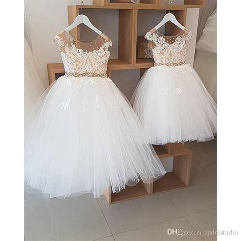 pattern for flower girl tutu dress fairy ball gown flower girls dresses ivory tulle with