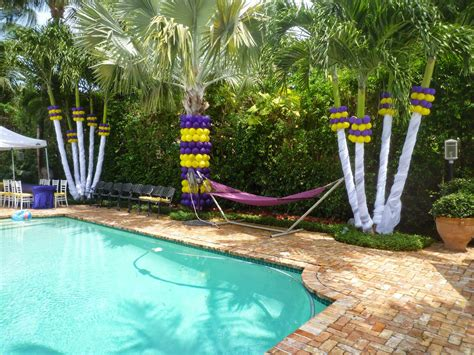 swimming pool dekoration create a pool birthday for your home