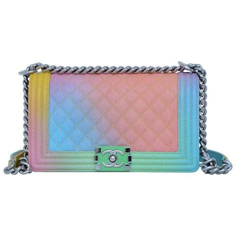 Chanel Boy Jbag X6 chanel rainbow cuba boy handbag medium 17 crossbody new