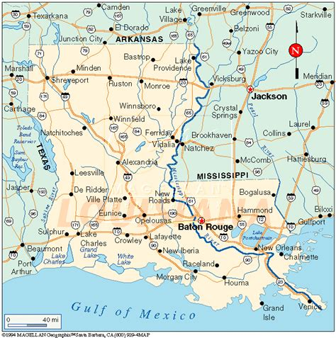 usa map louisiana louisiana map and louisiana satellite images