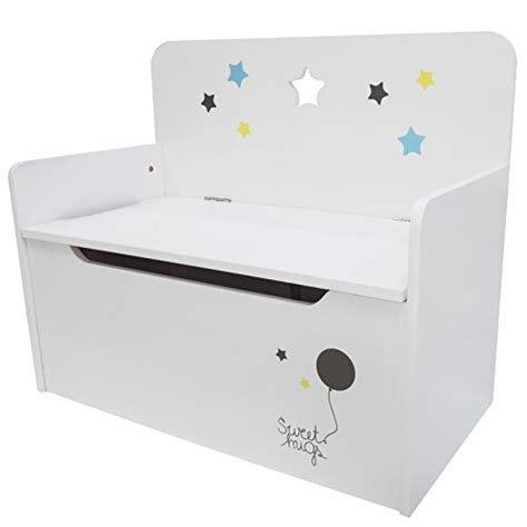 kids white storage bench timy wooden kids storage bench toy chest white import it all