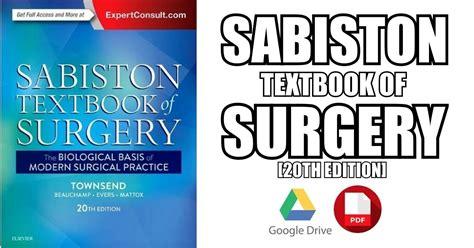 Pdf Sabiston Textbook Surgery Biological Surgical sabiston textbook of surgery pdf free direct link
