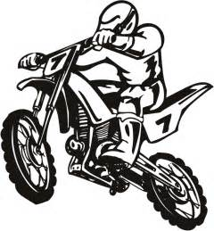 Dirt Bike Tires Clipart Dirt Bike Scrambler Motor Sport Wall Sticker Wall