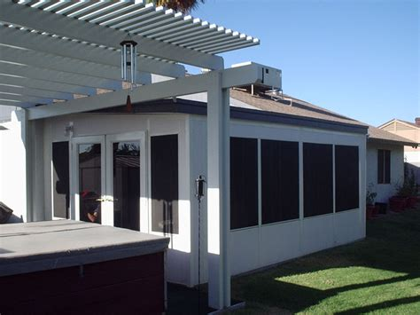 Prefab Sunroom Eave Patio Enclosures Arizona Enclosures And
