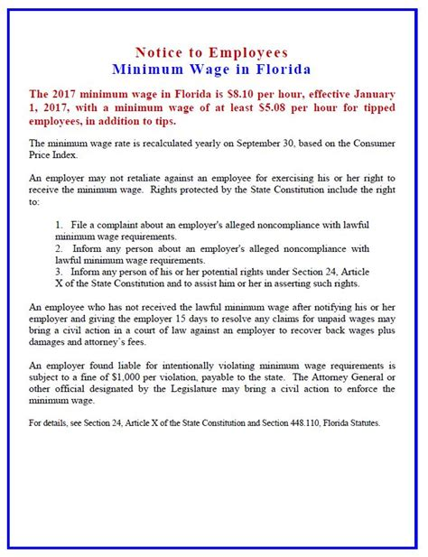 Gardena Ca Minimum Wage 2017 Florida S Minimum Wage Is Increasing In 2017 Business
