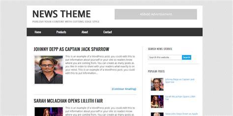 blogger news news blogger template genesis theme seo friendly untuk