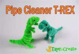 crafts using pipe cleaners pipe cleaner crafts dinosaur trex