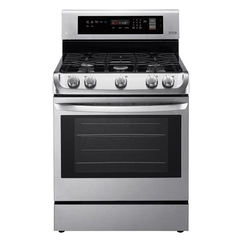 oven range ge cafe 6 7 cu ft oven gas range with self