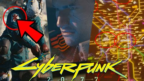 cyberpunk  trailer  details gameplay features
