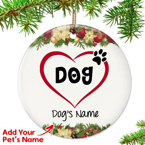 top pet gifts personalized quot i my quot ornament top pet gifts