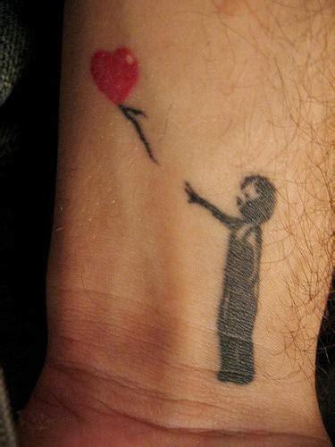 boy and balloon wrist