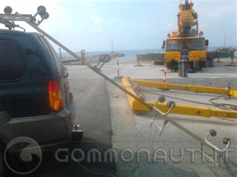 carrello porta auto usato vendesi vendo caricabarca portabarca da tetto