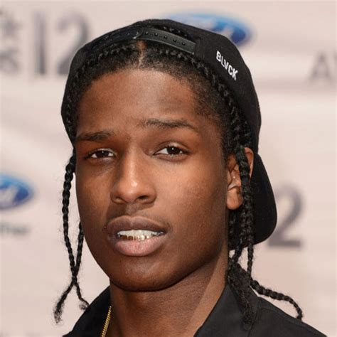 ASAP Rocky Braids   Men's Haircuts   Hairstyles 2018