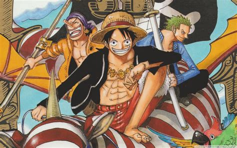pirates roronoa zoro boats anime strawhat pirates monkey