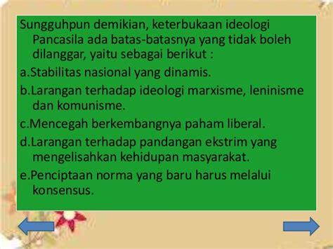 Pancasila Sebagai Kekuatan Pembebas pancasila sebagai ideologi bangsa dan negara