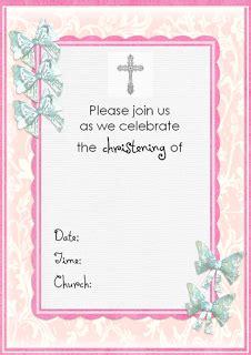 Free Christening Invitation Cards Free Christening Invitations Templates