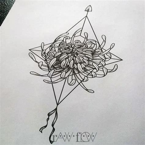 compass tattoo minimalist chrysanthemum tattoo with minimalist geometric compass