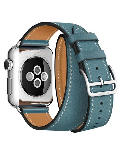 Apple Hermes 38mm Bleu Jean Leather Tour hermes leather band how much is a birkin bag hermes