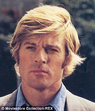 robert redfords hair robert redford sports two toned hair through sydney