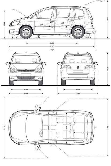 Vw Touran Interior Dimensions by