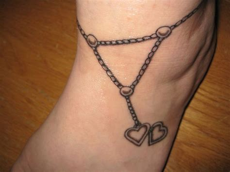 heart chain tattoo designs chine with tattoomagz