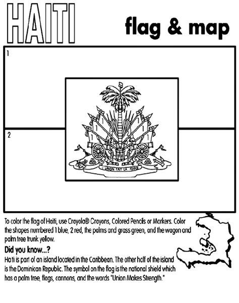 haiti map coloring page haiti crayola co uk