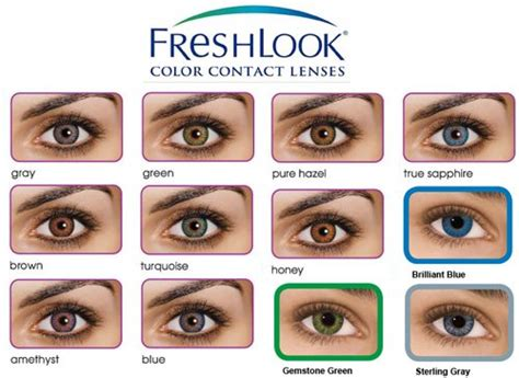 fresh colors review freshlook colorblends contact lens singapore