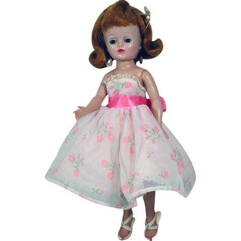 the fashion dolls vogue vintage vogue fashion doll in tagged dress