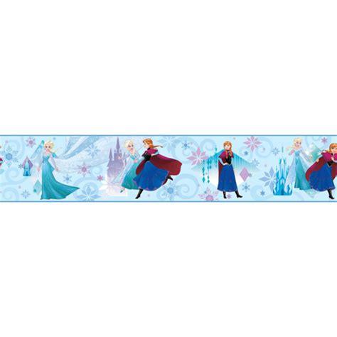 frozen wallpaper border frozen sisters border from disney kids 3 wallpaper book by