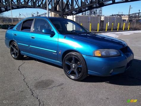 2003 vibrant blue metallic nissan sentra se r 45690159 gtcarlot car color galleries