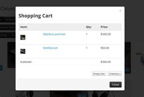 wordpress themes free shopping cart free marketpress theme and floating shopping cart