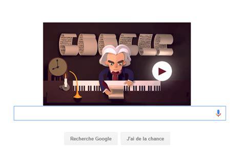 doodle beethoven un doodle pour le 245e anniversaire de beethoven