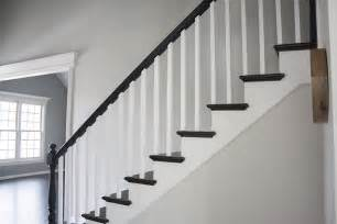 Stair Banister Spindles Black Railing You Re So Martha