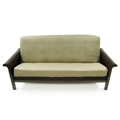 full size futon covers emilia stripe full size futon cover ebay