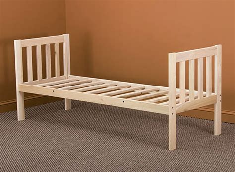 day bed frame new mission day bed frame twin size ebay