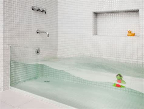 see through bathtub make a big splash clear glass tub boston home magazine