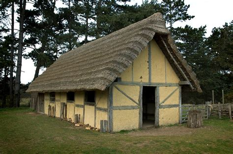 west stow anglo saxon village  building