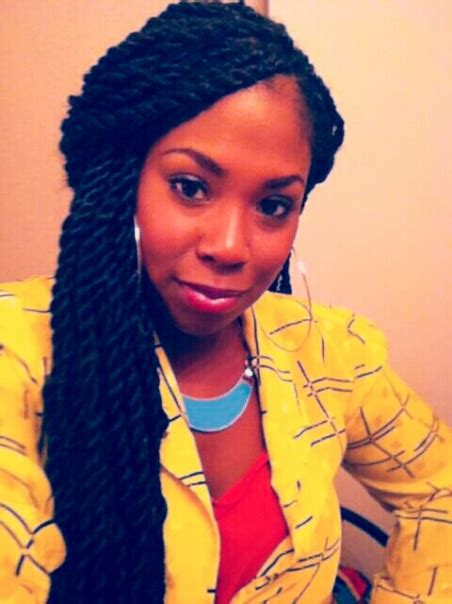 natural hair protective styling with marley senegalese long chunky twists kinks and thangs pinterest marley