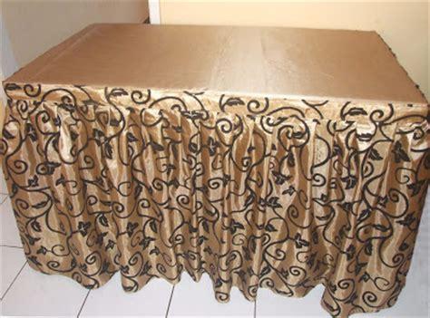 Cover Meja Poni Bordir cover taplak meja motif dan taplak meja