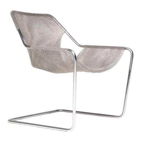 Paulistano Armchair by Paulistano Cote Of Mail Armchair By Objekto