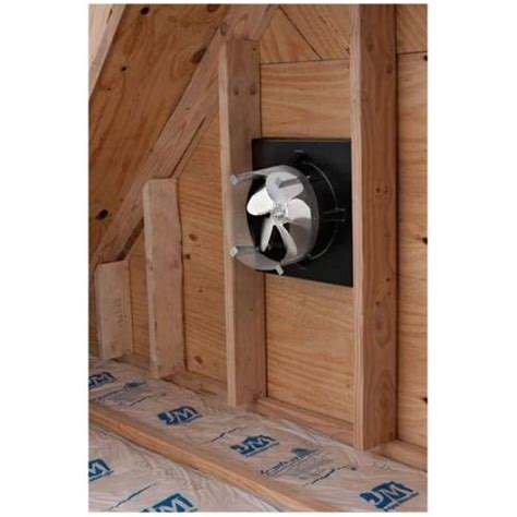 lomanco gable mounted attic broan 345go gable mounted attic ventilation fan with
