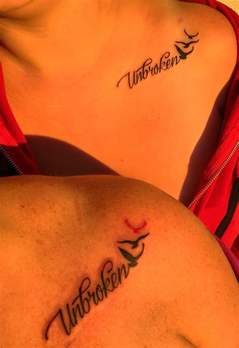 unbroken tattoo unbroken forever unbroken