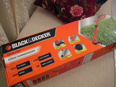 Mesin Potong Rumput Black Decker yeeyyyyy you are hired as goes on