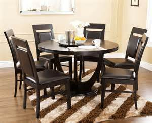 Dining Table Set With Lazy Susan Abbyson Living Calvin 7 Dining Set With Lazy