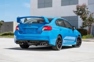 2016 Subaru Sti 2016 Subaru Brz Wrx Sti Get Limited Series Hyperblue Trim