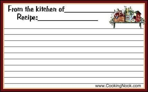 primitive recipe card template 38 best country cooking images on