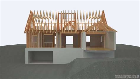 a frame building revit 3ds max building a timber framed detached house